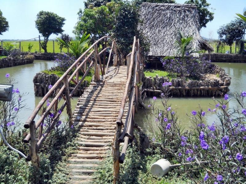 Mô hình làng quê xinh đẹp