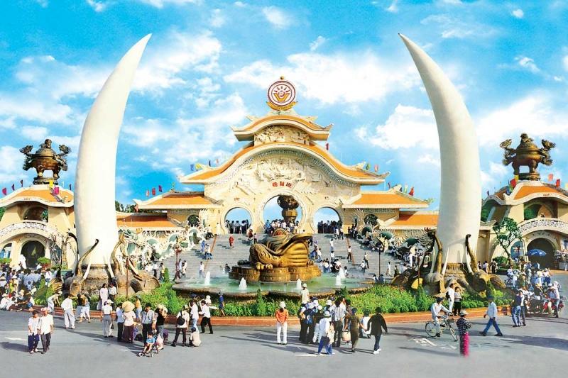 Khu du lịch văn hóa Suối Tiên là một trong những địa điểm đi chơi tết thiếu nhi 1/6 thú vị nhất cho bé