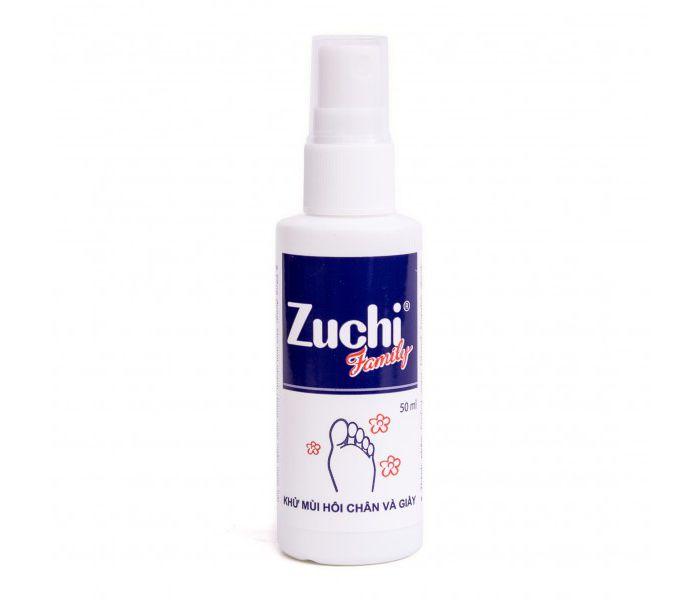 Khử mùi hôi chân và giày dạng xịt Zuchi