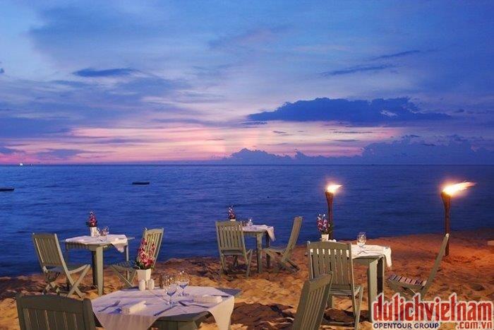 Bờ biển ngoài trời của khách sạn La Veranda Resort