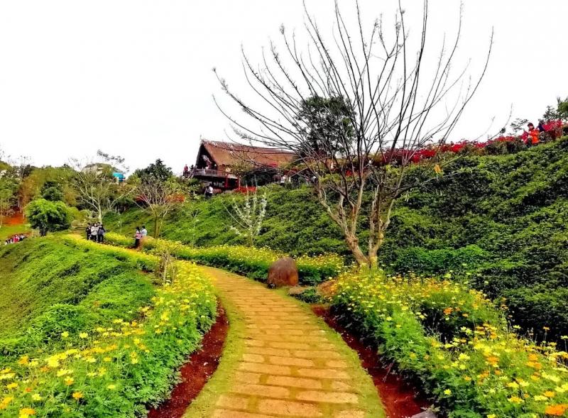 Một góc khuôn viên bên trong Kotam