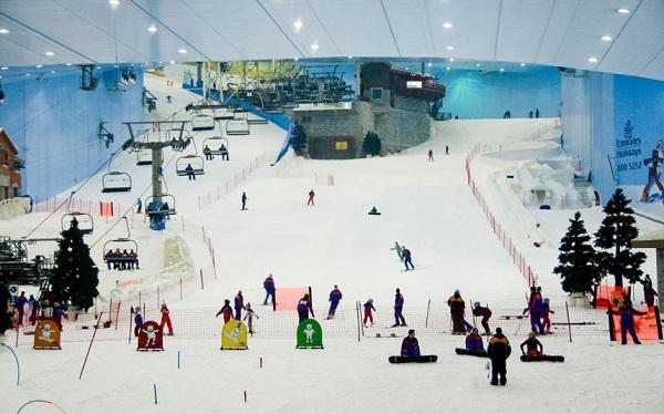 Khu trượt tuyết Dubai (Ski Dubai)