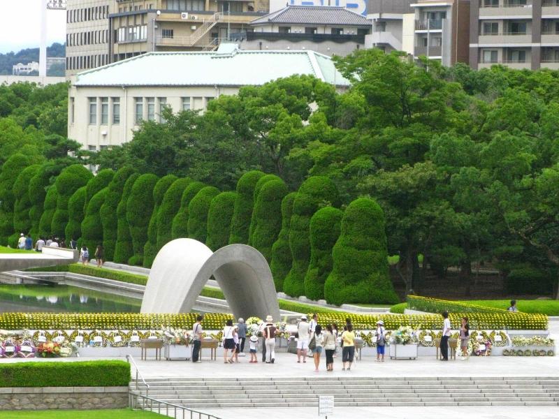 Khu tưởng niệm Hiroshima