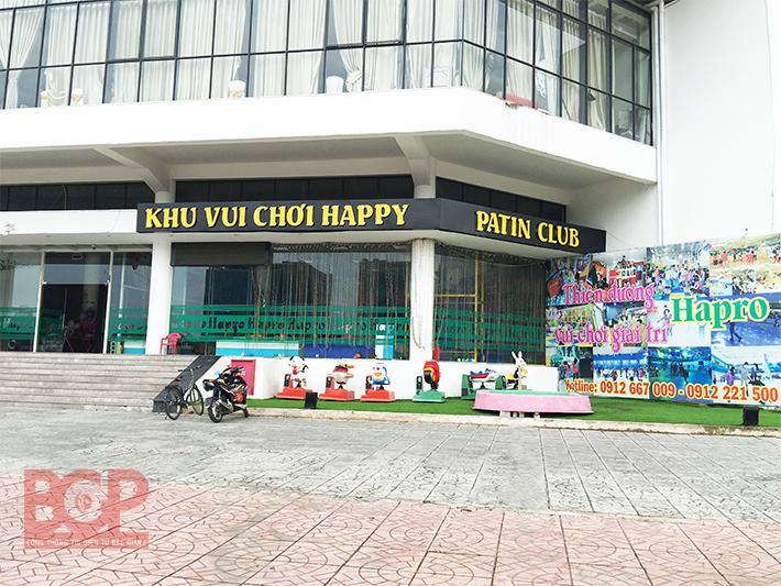 Khu vui chơi giải trí Happy, Patin Club