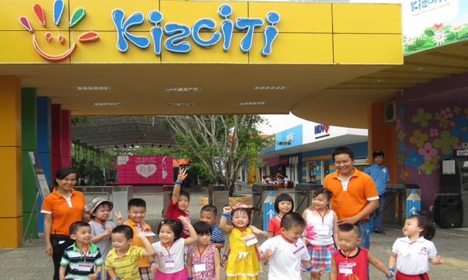 KizCiti là khu vui chơi theo mô hình thành phố hướng nghiệp đầu tiên tại Việt Nam