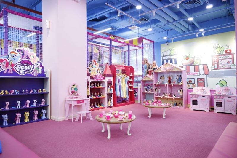 Khu vui chơi trẻ em tiNiWorld Vincom Mega Mall Thảo Điền Quận 2