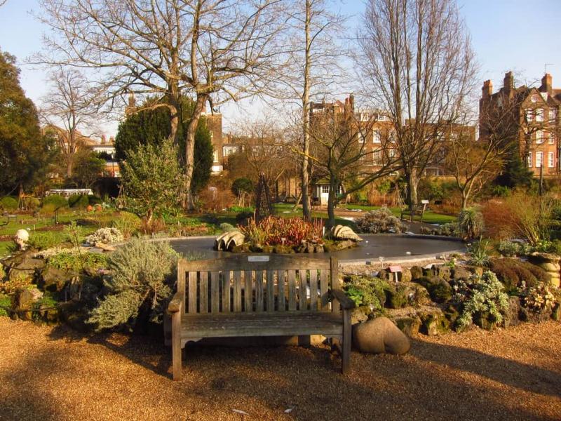 Khu vườn ở Chelsea
