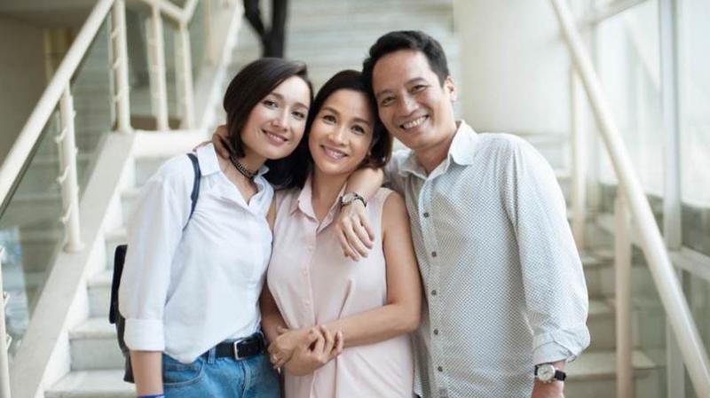 gia đình Mỹ Linh - Minh Quân
