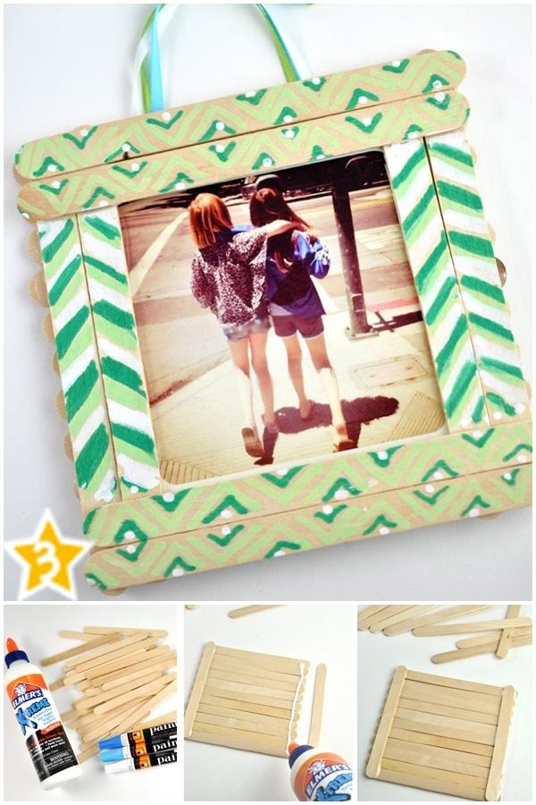 Một khung hình dễ thương như thế này sẽ là món quà ý nghĩa cho bạn thân của bạn
