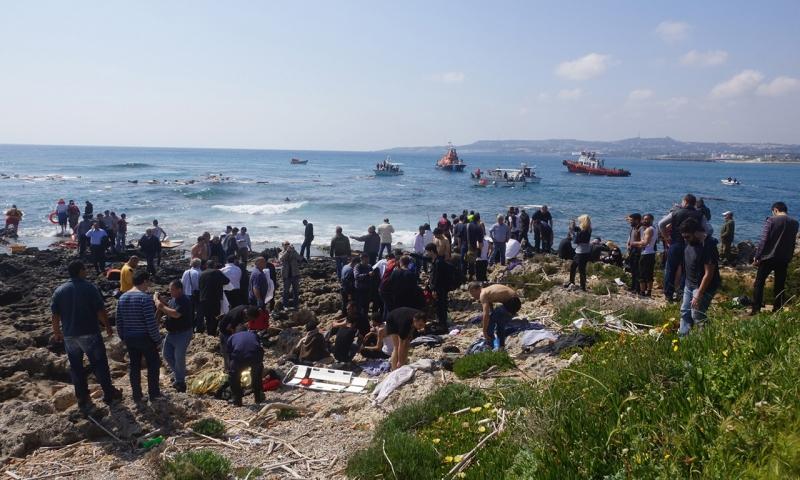 Các hoạt động cứu trợ người di cư bất hợp pháp trên đảo Rhodes, Hy Lạp
