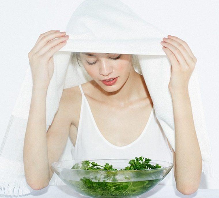 Xông hơi giúp khuôn mặt của bạn sẽ được cấp nhiều oxy hơn