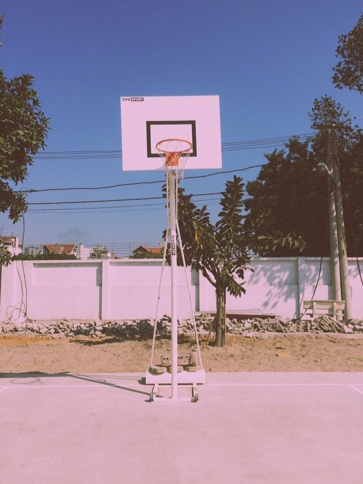 Sân chơi cho những ai ham mê bóng rổ