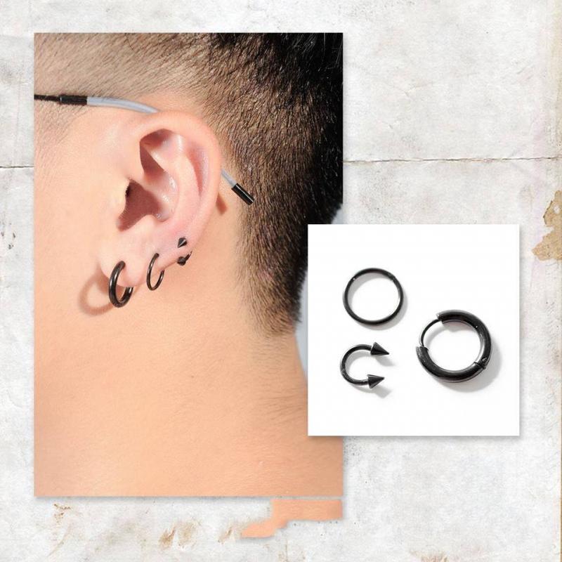 Khuyên tai cao cấp - Bông tai đẹp nam nữ