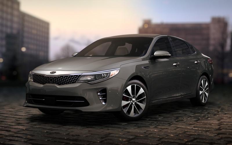 Kia Optima - sedan hạng D