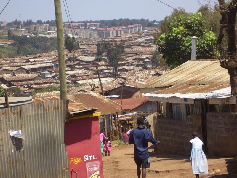 Kibera ở Nairobi, Kenya