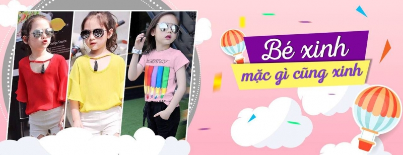 Quần áo thời trang cho bé gái tại Kiddy World