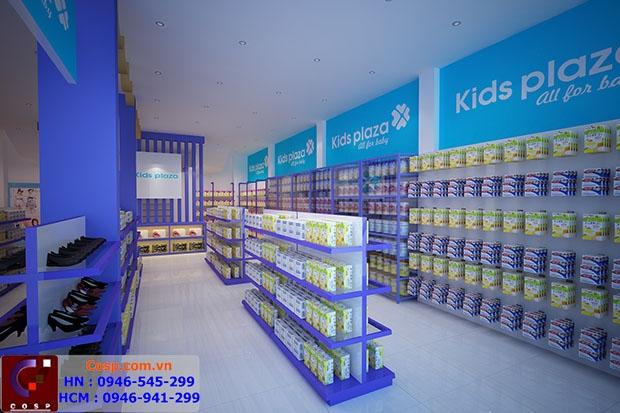 Một góc của Kids plaza