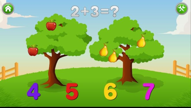 Kids Numbers and Math Lite for Android