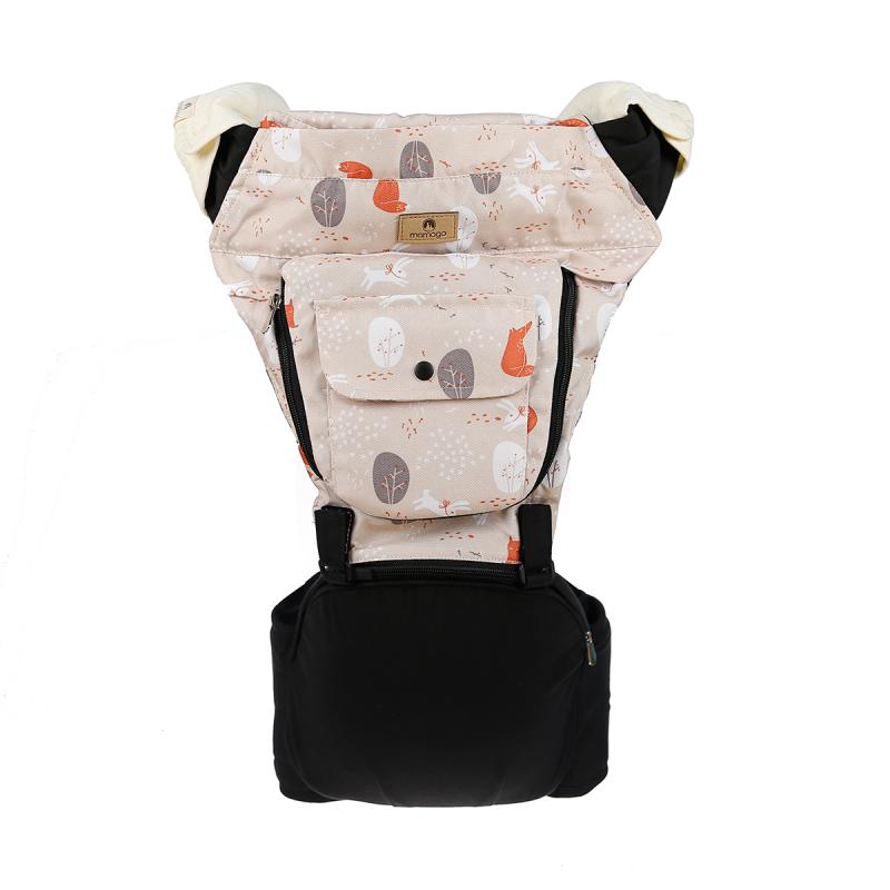 Địu em bé Hip seat premium Mamago C04 (Hồng Kaki)