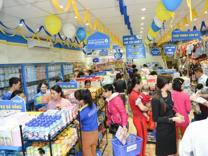 Cửa hàng Kidsplaza ở Hà Nội