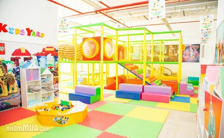 Kidsyard là hệ thống sân chơi trong nhà hấp dẫn dành cho các bé