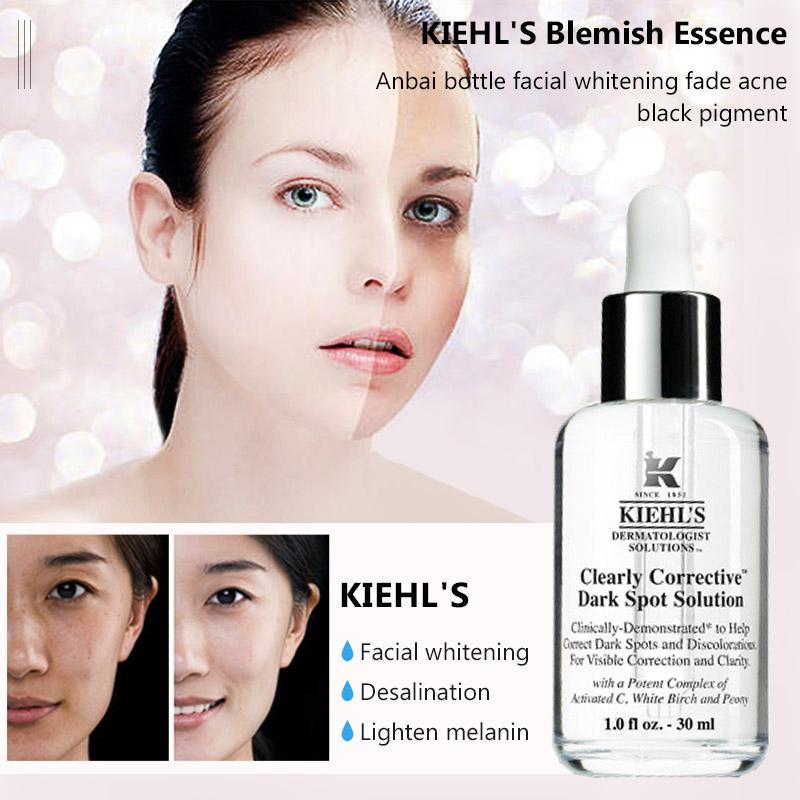 Trước và sau khi sử dụng Kiehl's Clearly Corrective Dark Spot Solution