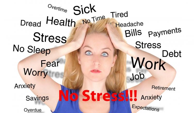 Đừng để stress ảnh hưởng đến bạn (Nguồn: Internet)