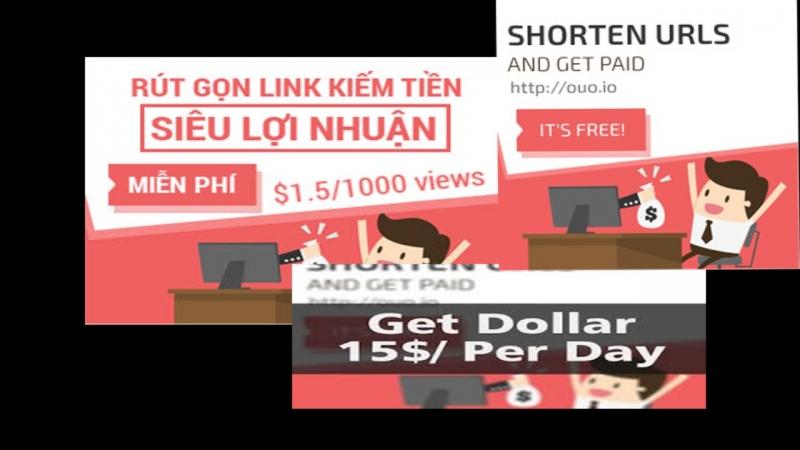 Rút gọn link kiếm tiền