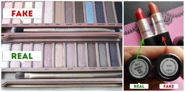 Màu sắc của sản phẩm giả và thật khác nhau hoàn toàn