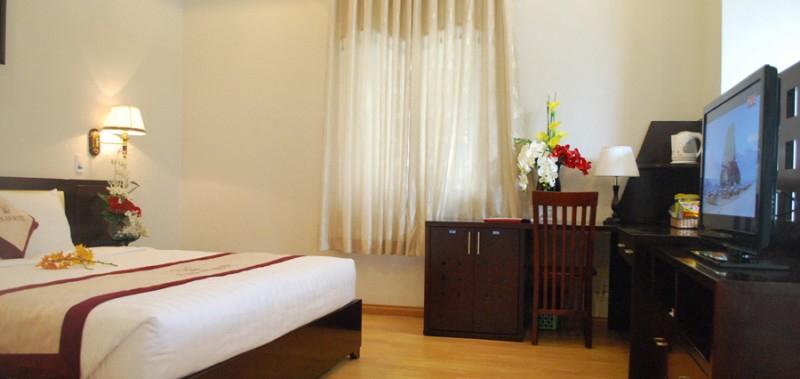 Phòng tại khách sạn Kiến An
