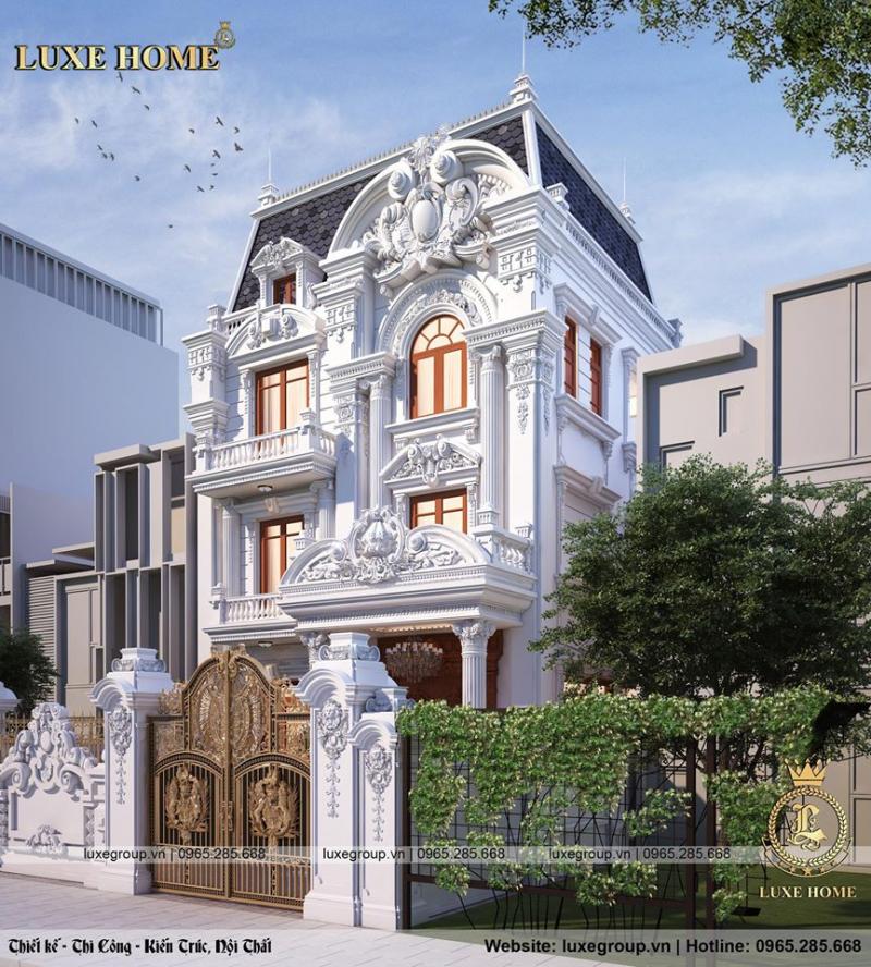 Kiến Trúc Luxe Home