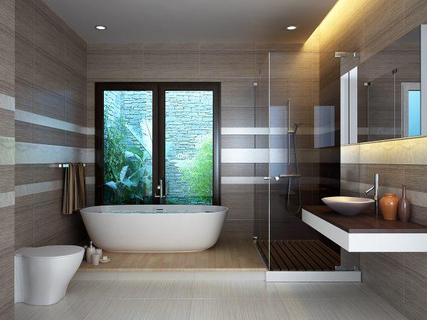 Nội thất phòng tắm tiện nghi và thân thiện môi trường