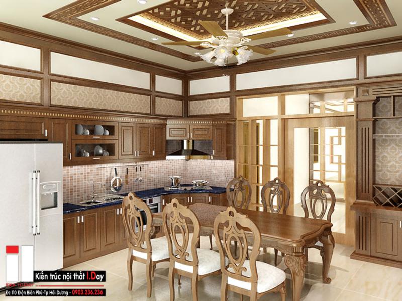 Thiết kế phòng ăn của kiến trúc Iday