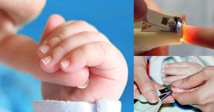 Kiêng cắt móng tay, móng chân
