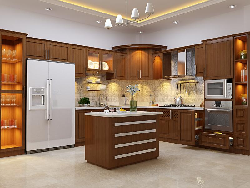 Kiêng đặt bếp ở vị trí trung tâm của nhà