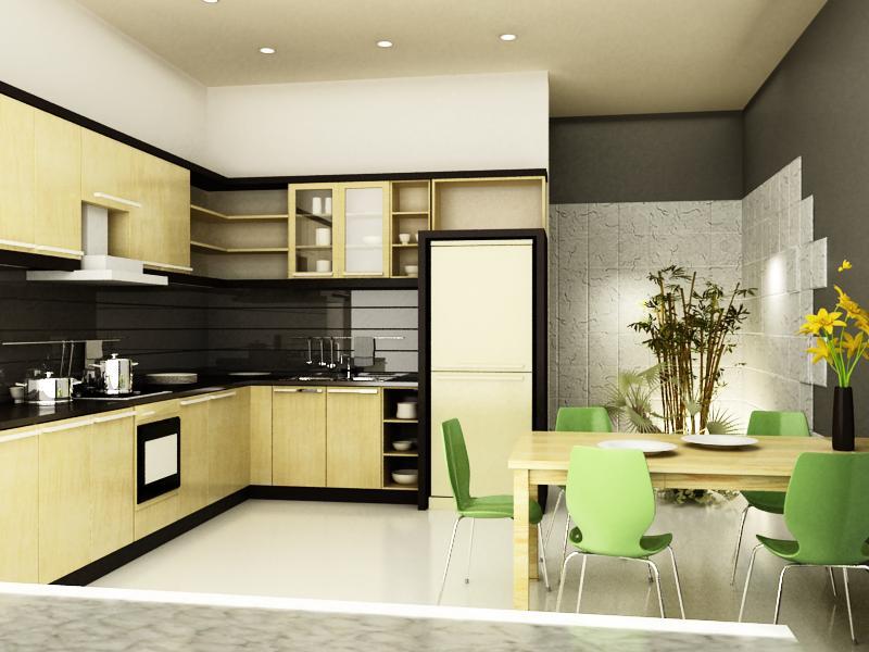 Kiêng dùng ánh sáng mờ ảo cho phòng bếp