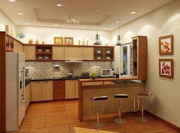 Phòng bếp đẹp, hợp phong thủy