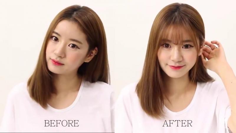 Trước và sau khi cắt mái thưa có nhiều khác biệt phải không các bạn?