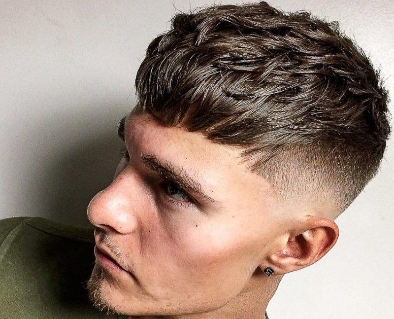 Kiểu tóc Textured Crop mang lại phong cách khác biệt cho chủ sở hữu