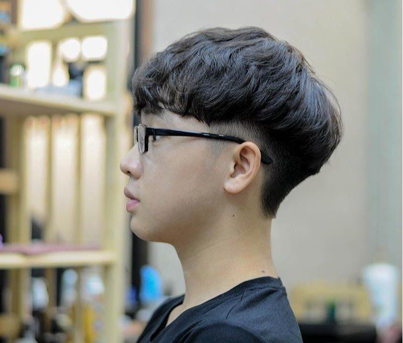 Kiểu tóc two block.