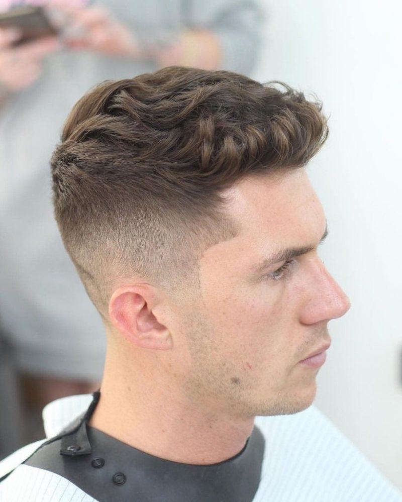 Kiểu tóc Undercut đơn giản