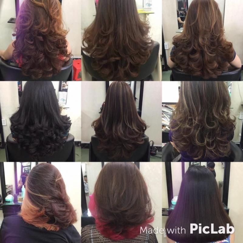 Các kiểu tóc đã được thực hiện tại Kim Anh Salon
