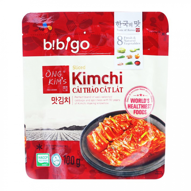 Kim chi Ông Kim's được nhiều người biết đến bởi sự uy tín của thương hiệu không hàn the, đường hóa học, giúp người sử dụng yên tâm vể vấn đề an toàn thực phẩm và sức khỏe