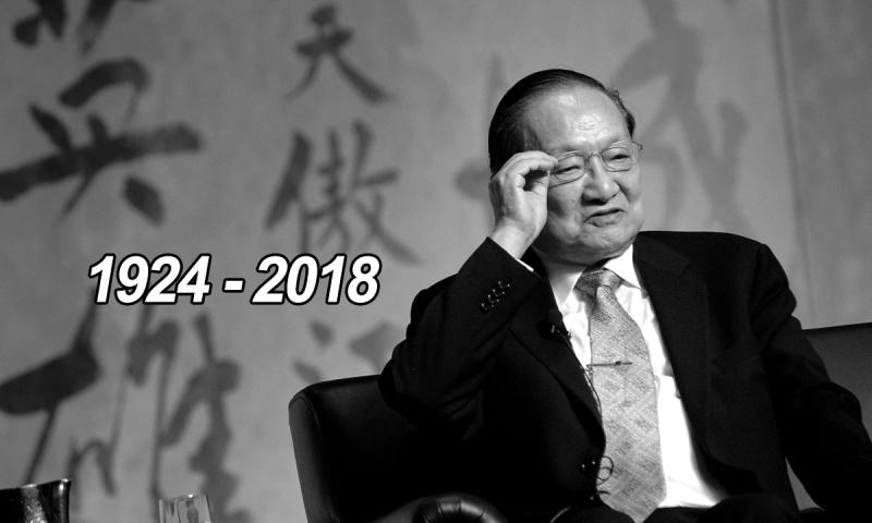 Tác giả Kim Dung là nhà văn có sức ảnh hưởng nhất Trung Quốc