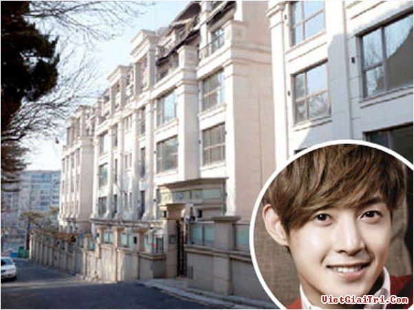 Nhà của Kim Hyun Joong