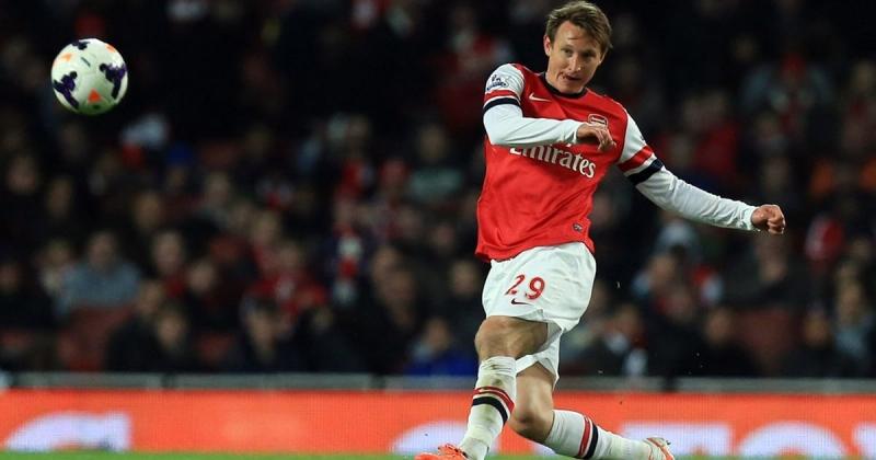 Kallstrom chỉ chơi vọn vẻn 3 trận cho Arsenal