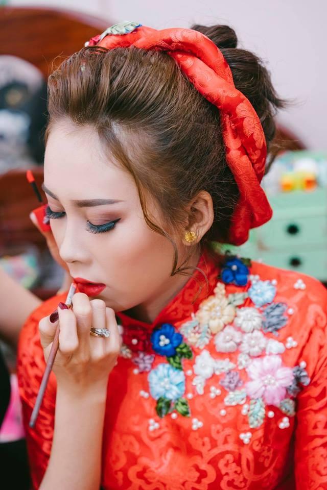 Kim Ngoc Le make Up (Áo Cưới Ngọc Phương Uyên)
