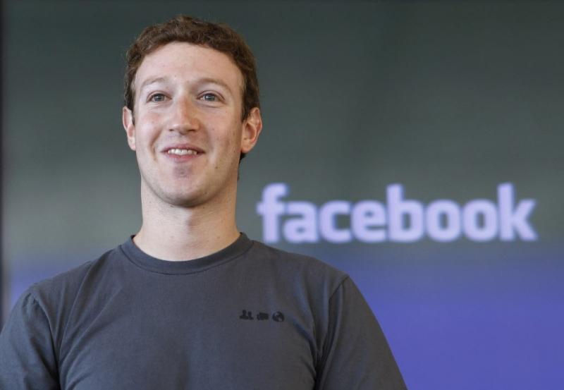Người sáng lập và là CEO Facebook, Marc Zuckerberg