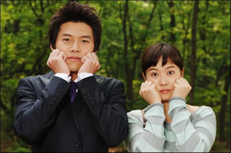 Kim Sun Ah và Hyun Bin