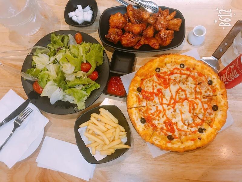 Món Pizza hấp dẫn tại Kim.Pizza